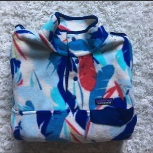 NWOT!! Patagonia multi colored pullover💙